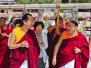 H.H Sakya Trizin in Bodhgaya