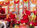 H.H Sakya Trizin & Luding Khenchen Rinpoche Tibetan Losar at Bodhgaya, Spring 2014.  Flickr - Photo Sharing! 2015-03-01 11-31-53