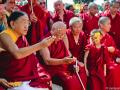 H.H Sakya Trizin & Luding Khenchen Rinpoche Tibetan Losar at Bodhgaya, Spring 2014.  Flickr - Photo Sharing! 2015-03-01 11-32-13