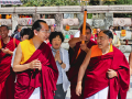 H.H Sakya Trizin & Luding Khenchen Rinpoche Tibetan Losar at Bodhgaya, Spring 2014.  Flickr - Photo Sharing! 2015-03-01 11-32-49